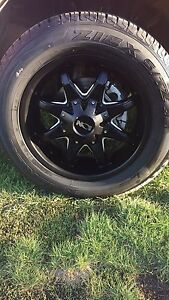 20 inch Ion rims with 275/60/20 tires