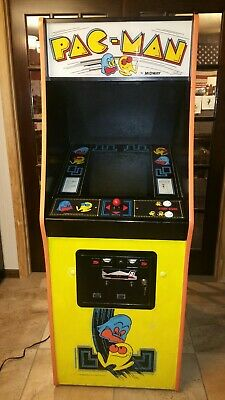 Pacman Pac man Original Vintage Upright Arcade Machine