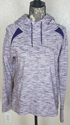 UNDER ARMOUR Cold Gear Storm Womens Semi Fitted Hoodie ~ Size Large ~ Purple