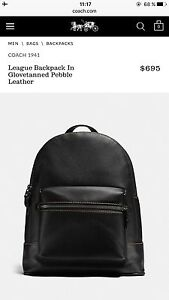 Brand new Backpack Coach a vendre