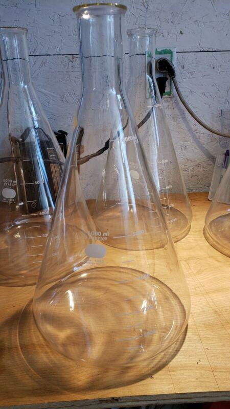 Pyrex 6000ml Flask No. 4980