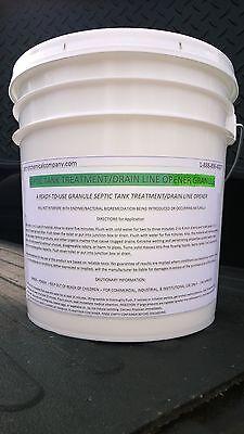 10 LBS GRANULAR DRAIN CLEANER LIQUID ALT. INDUSTRIAL STRENGTH GREEN -