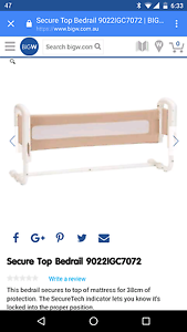 Safety 1st bed rail Forestdale Logan Area Preview