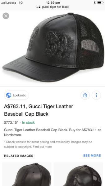 Gucci baseball cap 100% authentic new !!  131f9b8b4ac
