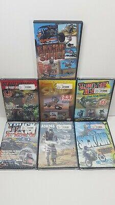 Lot Of ATV Dirt Bike And Monster Truck DVDs