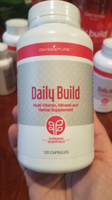 Genesis Pure Everyday Essentials Daily Build 120 Caps NEW! MultiVitamin Mineral
