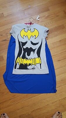 Batgirl Shirt With Cape
