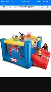 Inflatable bouncy game 50$ jeu gonflable à louer 50$