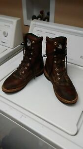 Georgia Boots, lace up boots, women's size 9