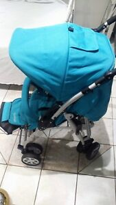 Don,t miss excellent reversible handle stroller for $80