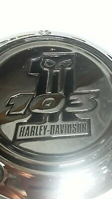Harley Davidson Skull Willie G Collection 103 Derby Cover Twin Cam