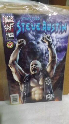 Chaos! Comics WWF Stone Cold Steve Austin # 2 Comic  Official Licensed Product