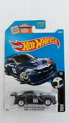 HOT WHEELS SUPER TREASURE HUNT BMW Z4 M MOTORSPORT # 188/250. W/Protecto