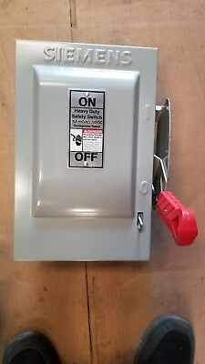 Hnf361 Siemens 30 Amp Safety Switch