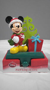 New Disney Mickey Mouse  Christmas Stocking Holder