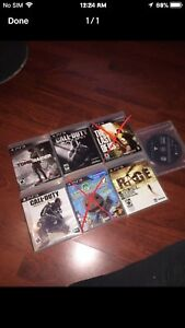 PS3 GAMES 10$ EACH OR 40 FOR ALL