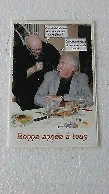 CARTE DE VOEUX  HENRY VERNES et GERALD FORTON  2005   NEUF
