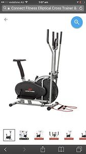 Connect Fitness Elliptical Cross Trainer & Exercise Bike -RRP$280 Rhodes Canada Bay Area Preview