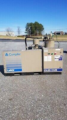 Used 25 Hp Compair Leroi Rotary Compressor