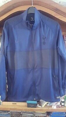 Tottenham Fc Nike Training Jacket Dry Strike knit Bench version 2020 Men Navy