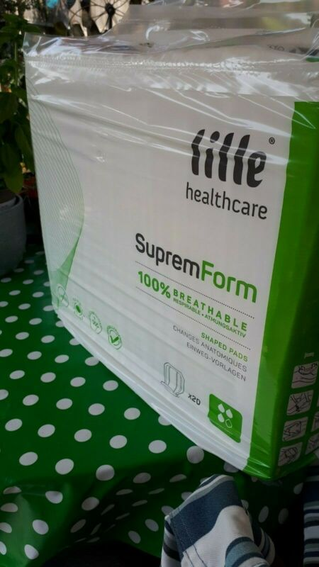 Lille+SupremForm+HealthCare+Shaped+Pads+x+4+Packs