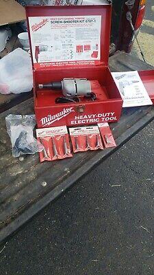 Milwaukee Heavy Duty General Purpose Screw Shooter Kit 6767-1 Works Wextras