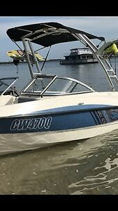 """Bimini"" bayliner 185 flight series monster tower wake tower bimini Paradise Point Gold Coast North Preview"