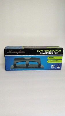 Swingline 3 Hole Low Force Hole Puncher 20 Pages B4