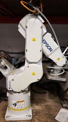 Epson C3-a601s 6 Axis Robot Arm And Rc180 Controller