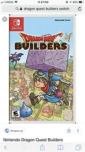 Have Dragon Quest builders on Ps4 for switch version