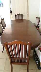 6 Piece Dining Table and Chairs Cabramatta West Fairfield Area Preview
