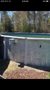 27' INSTALLED POOL WITH DECK!!