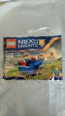 LEGO Nexo Knights 30372 - Robin's Mini Fortrex - 45 Pcs - New. Sealed. Retired.