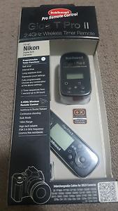 Nikon DSLR remote Giga T Pro II 2.4 GHz wireless remote Parramatta Parramatta Area Preview