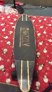 long board and spare deck