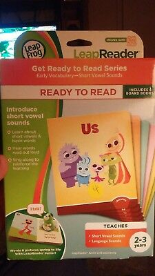 LeapFrog LeapReader Junior: Ready to Read Book Set works with Tag Junior