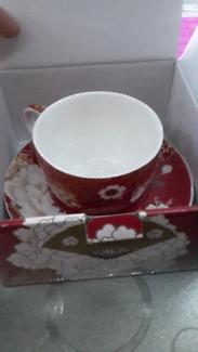 Maxwell Williams Kimono teacup set x 1