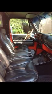 Custom Classic car and truck interiors