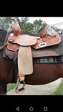 Barrel/ breakaway saddle. Biloela Banana Area Preview