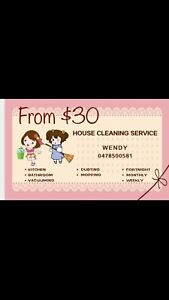 Wendy's house cleaning service