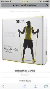 Sweet Sweat Resistance Bands