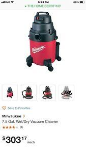 Milwaukee wet dry vacuum