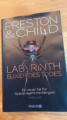 Labyrinth Elexier des Todes PRESTON & CHILD