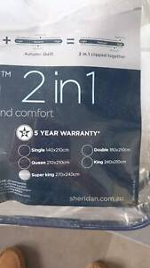 Sheridan 2 in 1 Doona - Super King