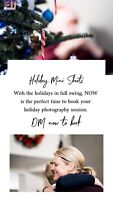 Holiday Photo Sessions Book Now!