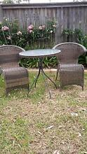 Outdoor furniture 3 piece setting Mount Colah Hornsby Area Preview