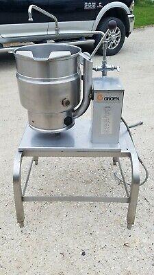 Groen Tdb7-20 Commercial Electric Steam Jacketed Soup Tilt Kettle 208240v