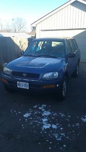 1997 Toyota Rav4 as is