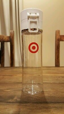 Target Logo Clear Thermos Coffee Tea Water Bottle Container Starbucks Limited Ed