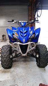 2005 Yamaha Raptor 350 (modifed to just over 400cc) Spreyton Devonport Area Preview